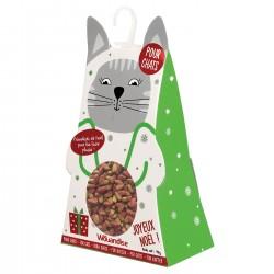 Boîte de Noël pour chats