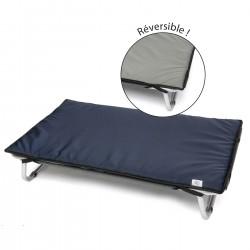 Coussin imperméable réversible pour lit dépliant