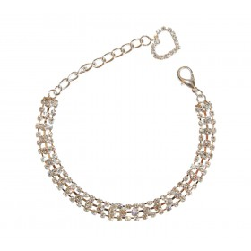 Collier 3 rangs de strass...