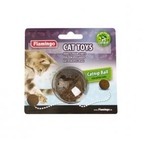 Balle herbe à chat 4,5 cm