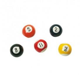 Balle de billard éponge 6,5 cm