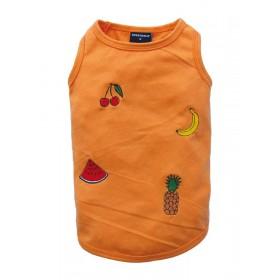 T-shirt orange motifs fruits