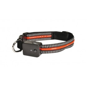 Collier nylon LED rechargeable