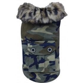 Manteaux camouflage pour chien
