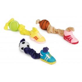 Balle et chaussure en vinyle