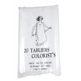 20 tabliers plastifiés...