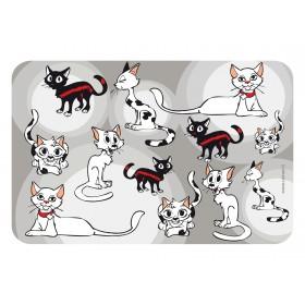 Set de table motif chats