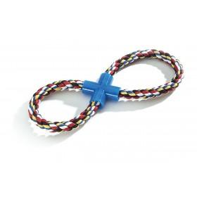 Haltère en corde forme de huit