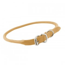 Collier cuir rond