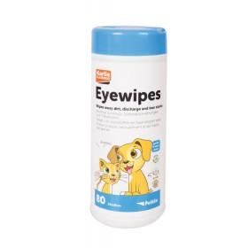 Lingettes nettoyantes yeux