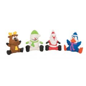 Lot de 4 jouets latex de...