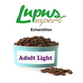 Echantillon Croquette Lupus expert Adult Light 250g