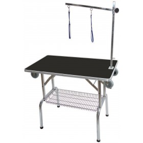 Table pliante avec potence...