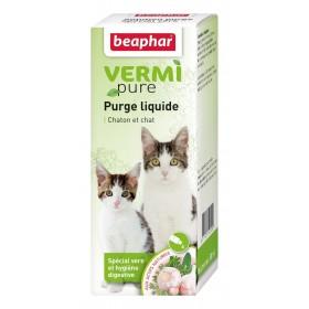 Solution purge aux plantes chat Beaphar
