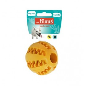 4 jouets balle dental goût...