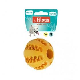 4 jouets balle dental goût vanille + 2 gratuits