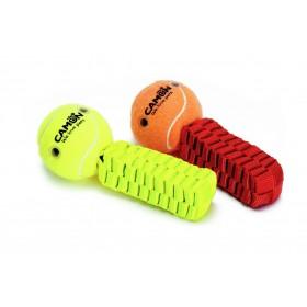 Balle de tennis pour chien...