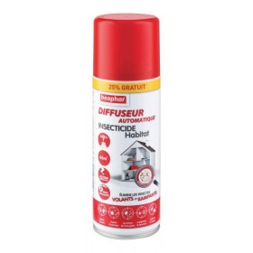 Fogger diffuseur insecticide Beaphar 200 ml