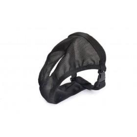 Culotte hygiène chien noir fermeture clip