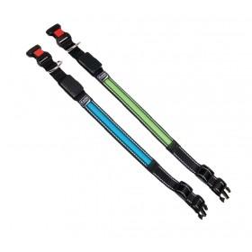 Collier lumineux à LED vert ou bleu