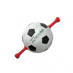 Ballon foot avec poignées