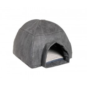 Igloo Gris pour grand chat