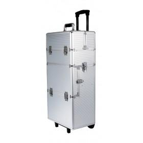 Valise Trolley pour accessoires de toilettage