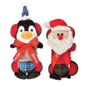 Lot de 4 peluches de Noël