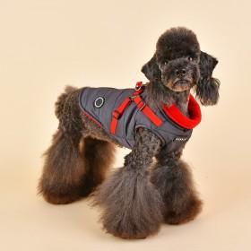 Manteau chien matelassé...
