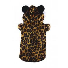 Manteau léopard avec...