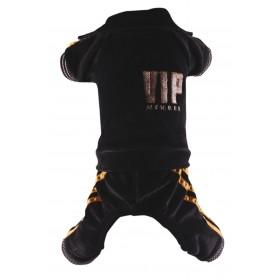 Jogging noir à pattes VIP...