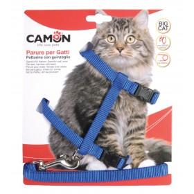 Harnais grand chat nylon +...