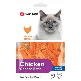 Friandise chat au poulet et...