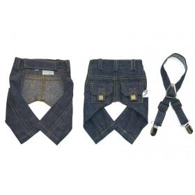 Pantalon jean avec poches,...