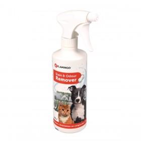 Destructeur d'odeur détachant pour chien et chat