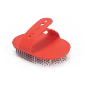 Brosse pour poils durs avec poignée