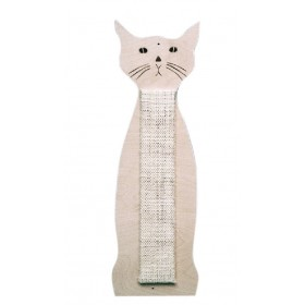 Griffoir forme chat de 60 cm