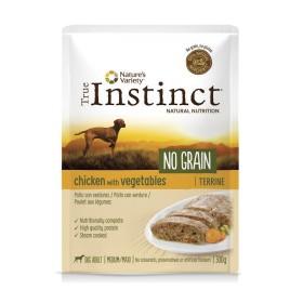 Terrine True Instinct NO GRAIN sans céréales poulet aux...